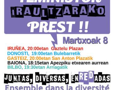 Gaurko deialdiak / Convocatorias para hoy: