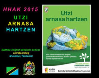 Elkartasun Kanpaina, Leioako Askartza Claret Ikastetxean / Campaña de Solidaridad en el Colegio Askartza Claret, en Leioa.