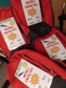 Larraona, mochilas energéticas, Gobierno Navarra, Iñako, 4º primaria, con energía +, aprendizaje y servicio