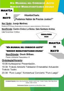 Actividade de Comercio Justo - Bilbao - 2019