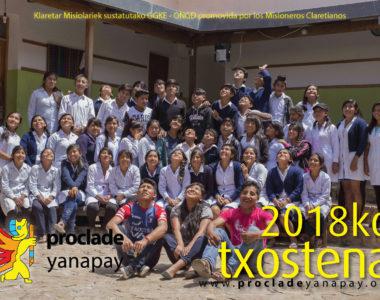 2018ko txostena – Memoria 2018
