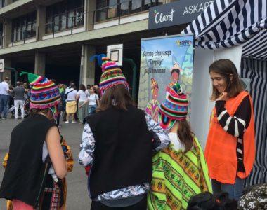 Claret Askartzaren jaian – En la fiesta de Claret Askartza