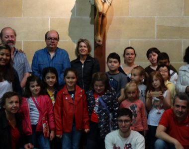 San Kisitoren partez – ESKERRIK ASKO – en nombre de San Kisito!