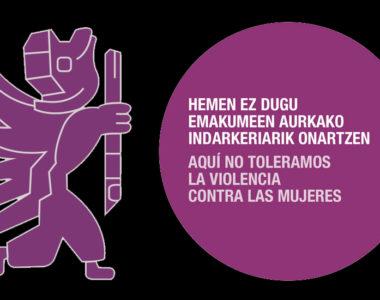 Emakumeen aurkako Indarkeria desagerrarazteko Nazioarteko Eguna – Día internacional de la eliminación de la violencia contra las mujeres