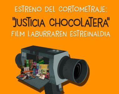"""Corto """"Justicia chocolatera"""" Laburmetraia"""