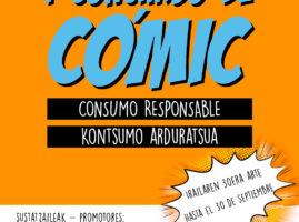 1. Komiki lehiaketa – 1er Concurso de Cómic