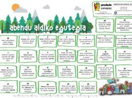 Abendualdia Egutegia – Calendario de Adviento (2020)