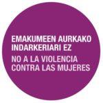 Emakumeen Aurkako Indarkeria Desagerrarazteko Nazioarteko Eguna –  Día Internacional de la Eliminación de la Violencia Contra las Mujeres (2020)