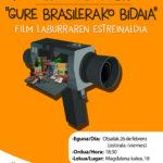 """""""GURE BRASILERAKO BIDAIA"""" Laburmetraia – Corto """"NUESTRO VIAJE A BRASIL"""""""