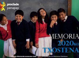2020ko txostena – Memoria 2020